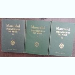 Manualul inginerului de mine - colectiv de autori  Volumele: 4,5,6