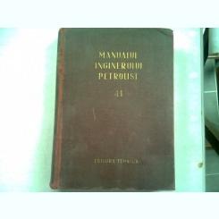 MANUALUL INGINERULUI PETROLIST 41. FORAJUL SONDELOR DE TITEI SI GAZE, PARTEA I-A TEHNOLOGIA PROCESELOR DE FORAJ