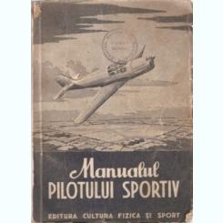 MANUALUL PILOTULUI SPORTIV ,1951