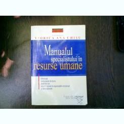 Manualul specialistului in resurse umane - Viorica Ana Chisu
