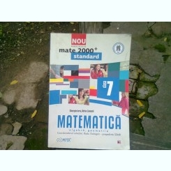 MATEMATICA ALGEBRA, GEOMETRIE-CLASA A-VII-A -GHEORGHE IUREA-ADRIAN ZANOSCHI