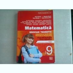 MATEMATICA. BREVIAR TEORETIC CLASA A 9-A - PETRE SIMION