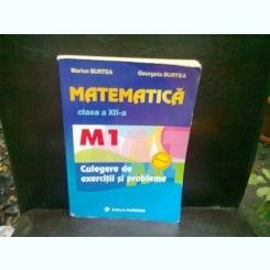 MATEMATICA CLASA A XII-A - MARIUS BURTEA