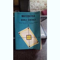 MATEMATICA IN SCOALA GENERALA - N. TEODORESCU