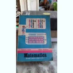 MATEMATICA. MANUAL PENTRU CLASA A III-A - DUMITRU ROSCA