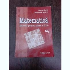 Matematica, manual pentru clasa a XI-a M1 - Marcel Tena