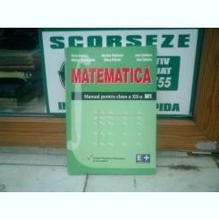 Matematica Manual pentru clasa a XII-a - Dorin Andrica, Nicolae Bisboaca, Ioan Serdean