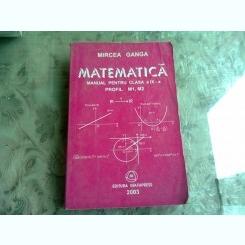MATEMATICA - MIRCEA GANGA