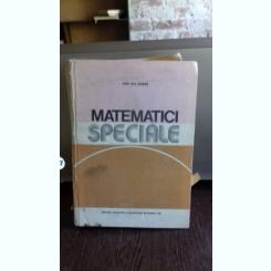 Matematici Speciale - Ion Gh. Sabac   VOL.1