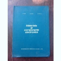 Materiale si componente electronice- Catuneanu