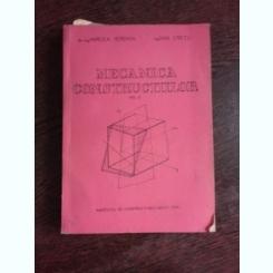 MECANICA CONSTRUCTIILOR - MIRCEA IEREMIA  VOL.2  (cu dedicatie)