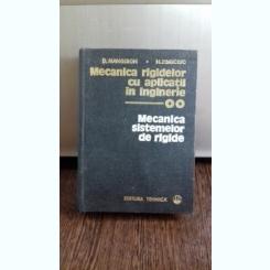 MECANICA RIGIDELOR CU APLICATII IN INGINERIE - D. MANGERON   VOL.2
