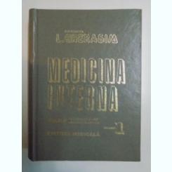 MEDICINA INTERNA BOLILE APARATULUI RESPIRATOR,LOCOMOTOR VOL.I BUCURESTI 1995-L.GHERASIM