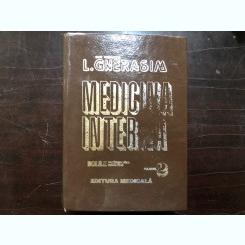 MEDICINA INTERNA. BOLILE CARDIOVASCULARE METABOLICE de L. GHERASIM, VOLUMUL II 1996