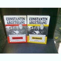 MEMORII - CONSTANTIN ARGETOIANU   2 VOLUME