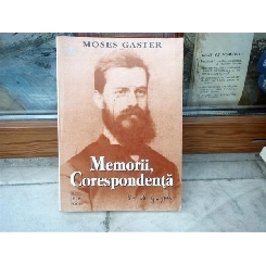 Memorii, Corespondenta , Moses Gaster , 1998