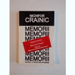 MEMORII DE NICHIFOR CRAINIC