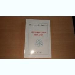 MESSAGES DES ENTITES - LES PROMENADES DE PLATON - CALIN BRANCENI