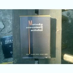 Metode de cercetare a solului - Gr. Obrejanu