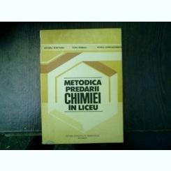 Metodica predarii chimiei in liceu - Ortansa Petrovanu, Olga Petrescu, Rodica Constantinescu