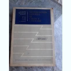 METODOLOGIA ISTORIEI SI CRITICII LITERARE, STUDII