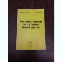 Mic dictionar de istoria rommanilor - Georgeta Smeu
