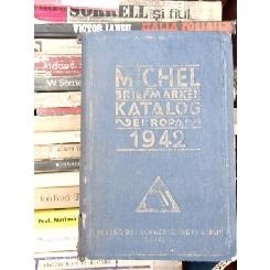 MICHEL BRIEFMARKEN - KATALOG 1942