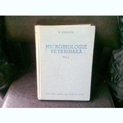 MICROBIOLOGIE VETERINARA - N. STAMATIN   VOLUMUL 1