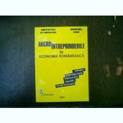 Microintreprinderile in economia romaneasca - Iacob Petru Pantea, Gheorghe Bodea