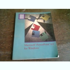 MICROSOFT POWERPOINT 4.0 FOR WINDOWS - SARAH E. HUTCHINSON