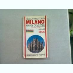 MILANO - HARTA TURISTICA