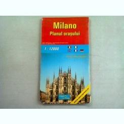 MILANO - PLANUL ORASULUI
