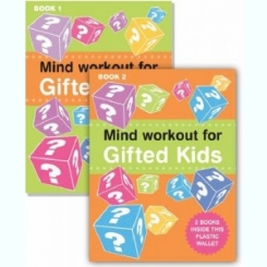 MIND WORKOUT FOR GIFTED KIDS - ROBERT ALLEN  (VOL.I - PERENT'S GUIDE. VOLII - PUZZLE BOOK)