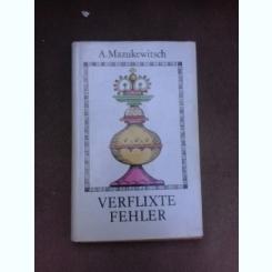 Mini jocuri de sah - Anatoli Mazukewitsch   (carte in limba germana)