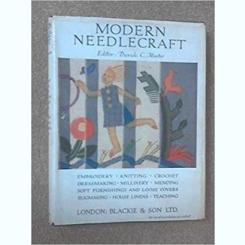 MODERN NEEDLECRAFT - DAVIDE C. MINTER  (CARTE DE CROITORIE)