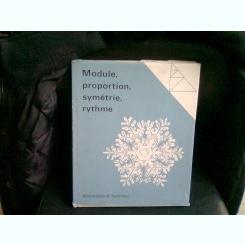 MODULE PROPORTION SYMETRIE RYTHME - GYORGY KEPES