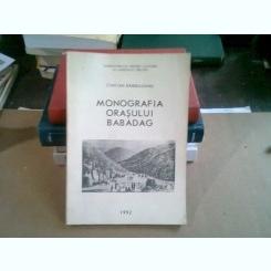 Monografia orasului Babadag - Cintian Barbulescu