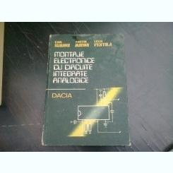MONTAJE ELECTRONICE CU CIRCUITE INTEGRATE ANALOGICE - EMIL SIMION