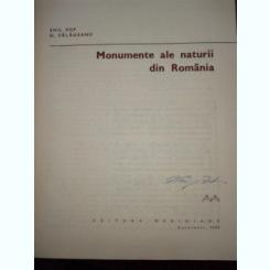 Monumente ale naturii din Romania -  Emil Pop, N. Salageanu