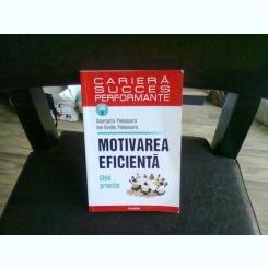 MOTIVAREA EFICIENTA - GEORGETA PANISOARA