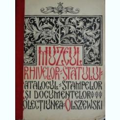 MUZEUL ARHIVELOR STATULUI, CATALOGUL STAMPELOR SI DOCUMENTELOR, COLECTIUNEA OLSZEWSKI, PARTEA I, PRIVITOARE LA ROMANIA