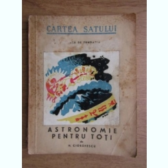 N. Cioranescu - Astronomie pentru toti (1946),coperta Dem