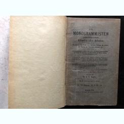 NAGLER, G.K.:ENCICLOPEDIE A MONOGRAMELOR ,1897, LIMBA GERMANA