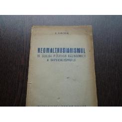 NEOMALTHUSIANISMUL - G.DIMITRIU