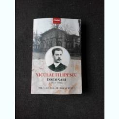 NICULAE FILIPESCU, INSEMNARI 1914-1916 - NICOLAE POLIZU MICSUNESTI