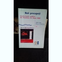 NOII PRECUPETI. INTELECTUALII PUBLICI DIN ROMANIA DE DUPA 1989 - ADRIAN GAVRILESCU