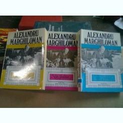 NOTE POLITICE - ALEXANDRU MARGHILOMAN    3 VOLUME