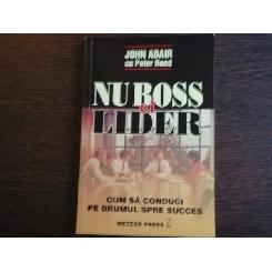 NU BOSS CI LIDER - JOHN ADAIR