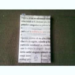 O CRONICA A SFARSITULUI POLITICII ROMANESTI - DANIEL BARBU