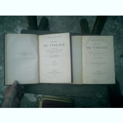 Oeuvres de Virgile 2 vol. - P. Virgilii Maronis Opera - traduit par E. Benoist